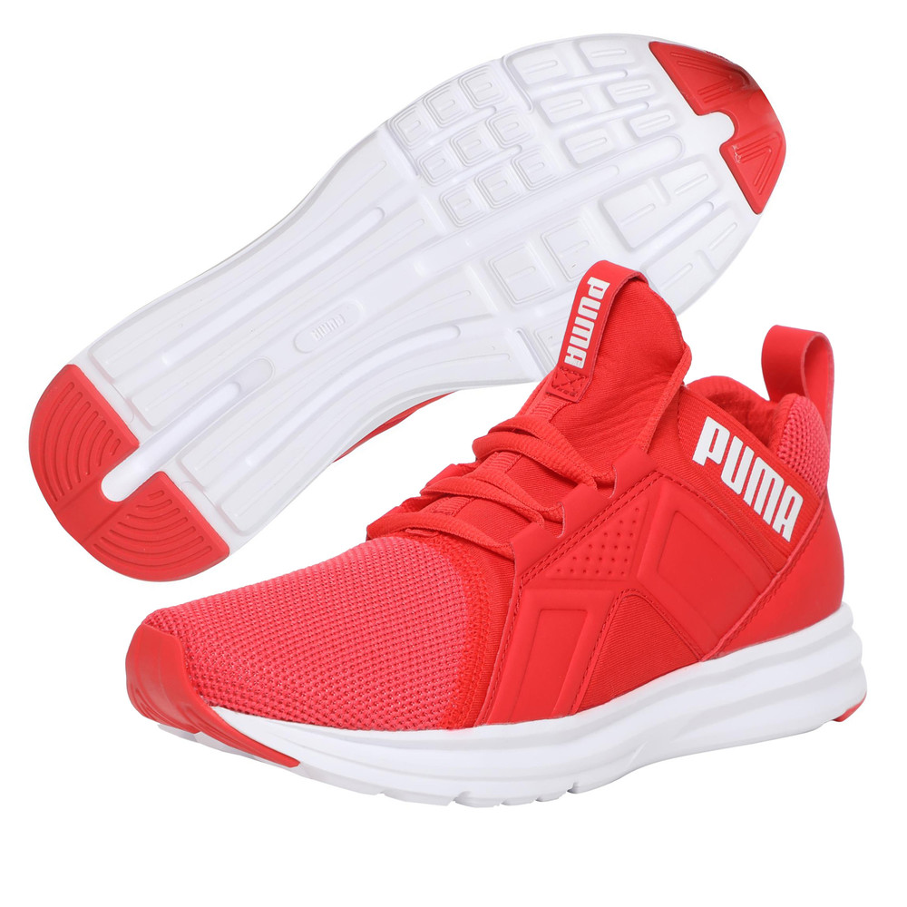 Купить Для бега, PUMA - female - Кроссовки Enzo Mesh Wn's – Poppy Red-Puma White – 40.5