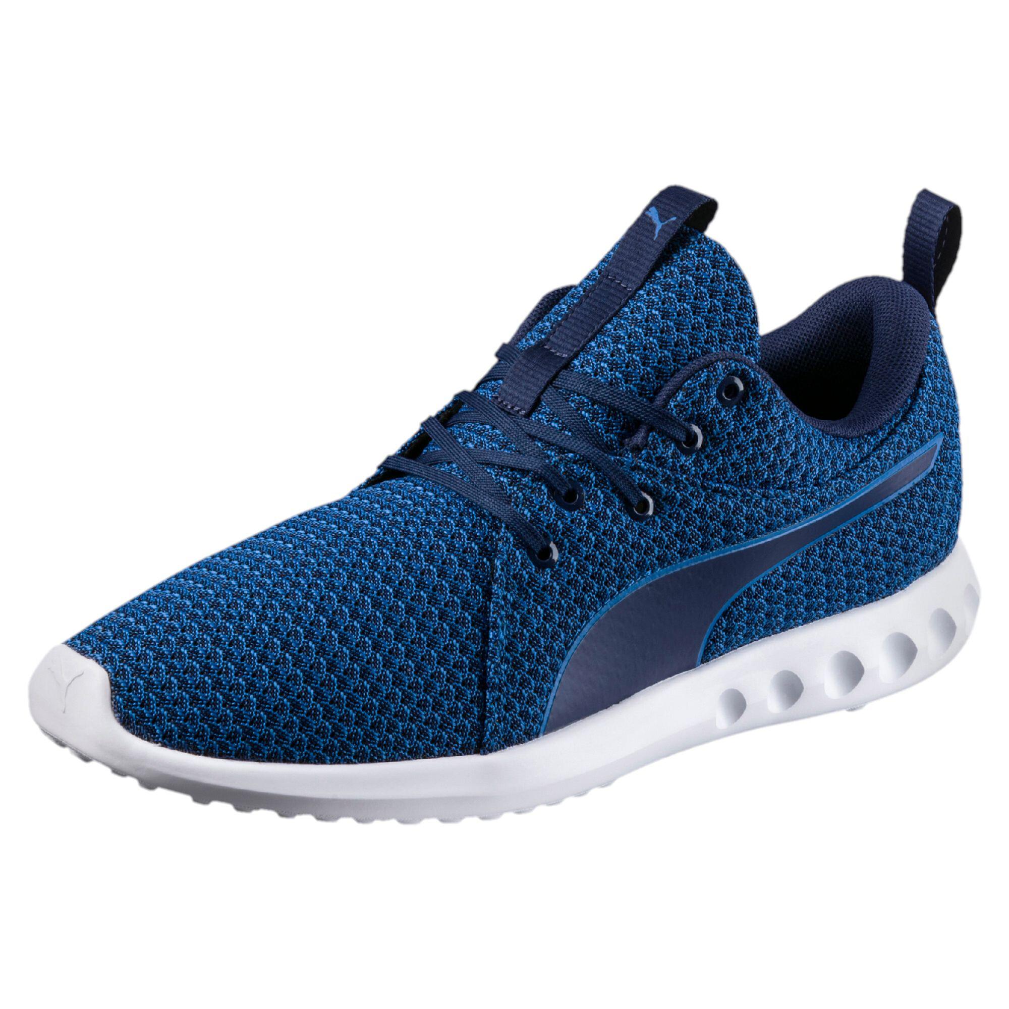 Image Puma Men's Carson 2 Knit Running Shoes #1