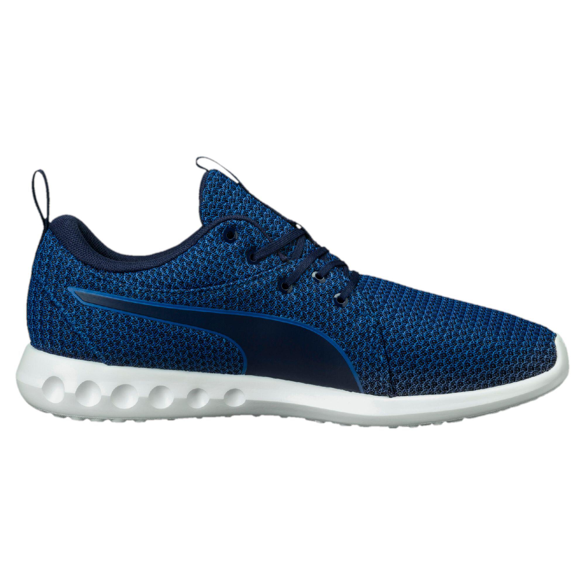 Image Puma Men's Carson 2 Knit Running Shoes #3