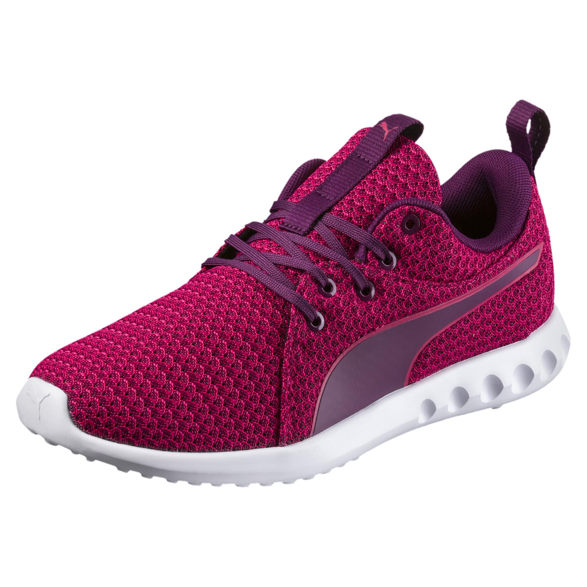 Image Puma Women's Carson 2 Knit Running Shoes #1