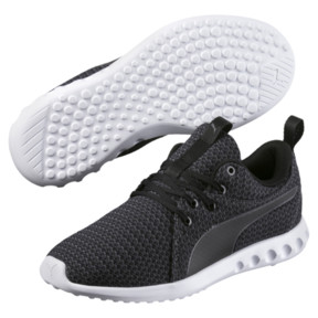 Thumbnail 2 of Carson 2 Knit Women's Running Shoes, Puma Black-Periscope, medium