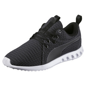 Thumbnail 1 of Carson 2 Knit Women's Running Shoes, Puma Black-Periscope, medium