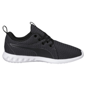 Thumbnail 3 of Carson 2 Knit Women's Running Shoes, Puma Black-Periscope, medium