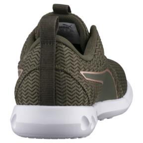 Thumbnail 4 of Carson 2 Metallic Women's Running Shoes, Olive Night-Rose Gold, medium