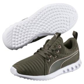Thumbnail 2 of Carson 2 Metallic Women's Running Shoes, Olive Night-Rose Gold, medium