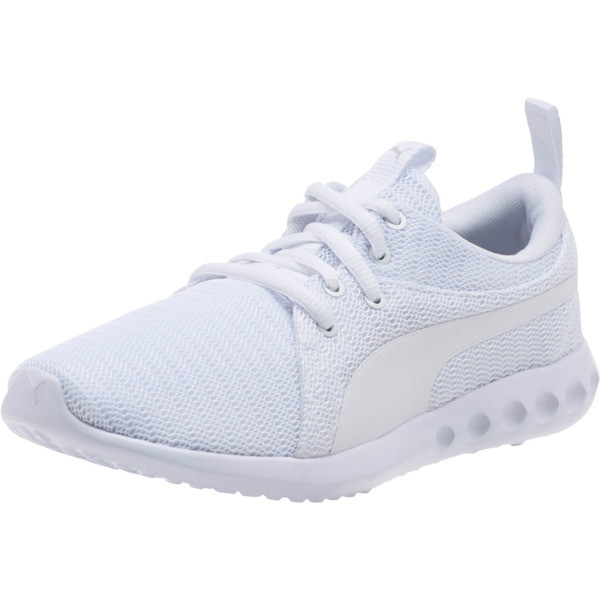 Carson 2 Sneakers JR, Puma White-Puma White, large