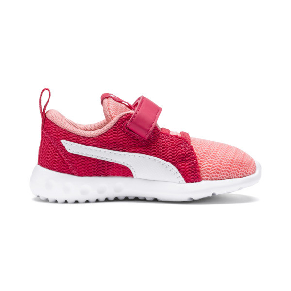 Carson 2 Sneakers INF, Soft Fluo Peach-Puma White, large