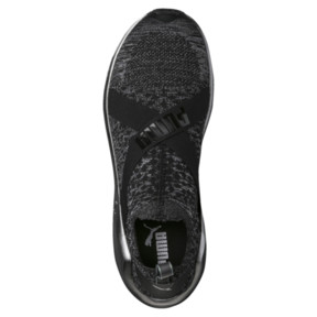 Thumbnail 5 of Fierce evoKNIT Metallic Women's Training Shoes, Puma Black-Puma Silver, medium