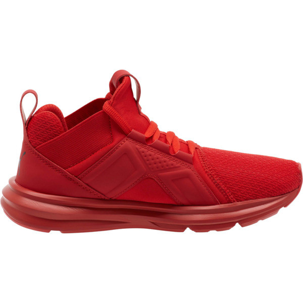 Enzo JR Training Sneakers, High Risk Red, large