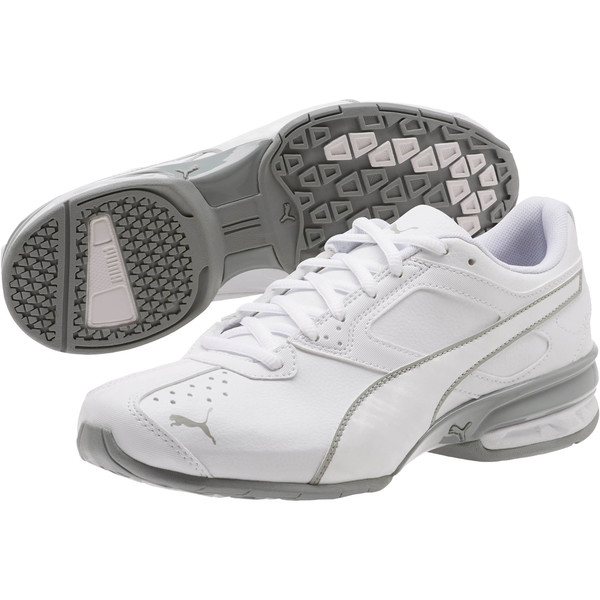 Tazon 6 IRI Women's Sneakers, Puma White-Quarry, large