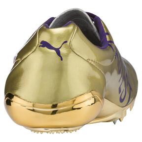 Thumbnail 4 of Bolt evoSPEED Electric Legacy Spike Shoes, Violet Indigo-Jelly Bean, medium
