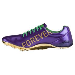Thumbnail 7 of Bolt evoSPEED Electric Legacy Spike Shoes, Violet Indigo-Jelly Bean, medium