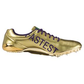 Thumbnail 3 of Bolt evoSPEED Electric Legacy Spike Shoes, Violet Indigo-Jelly Bean, medium