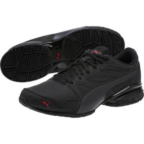 Thumbnail 2 of Tazon Modern SL FM Men's Sneakers, Puma Black-high risk red, medium