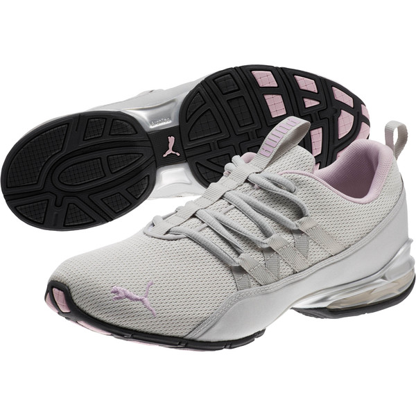 Riaze Prowl Women's Training Shoes, Gray Violet-Winsome Orchid, large
