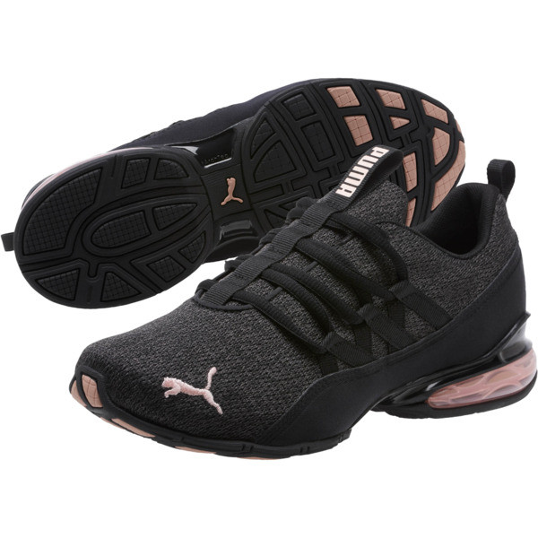 Riaze Prowl Women's Training Shoes, Puma Black-Rose Gold, large
