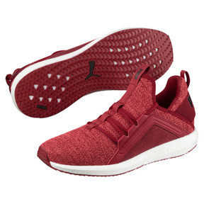 Thumbnail 2 of Mega NRGY Knit Men's Running Shoes, Red Dahlia-Flame Scarlet-Blk, medium