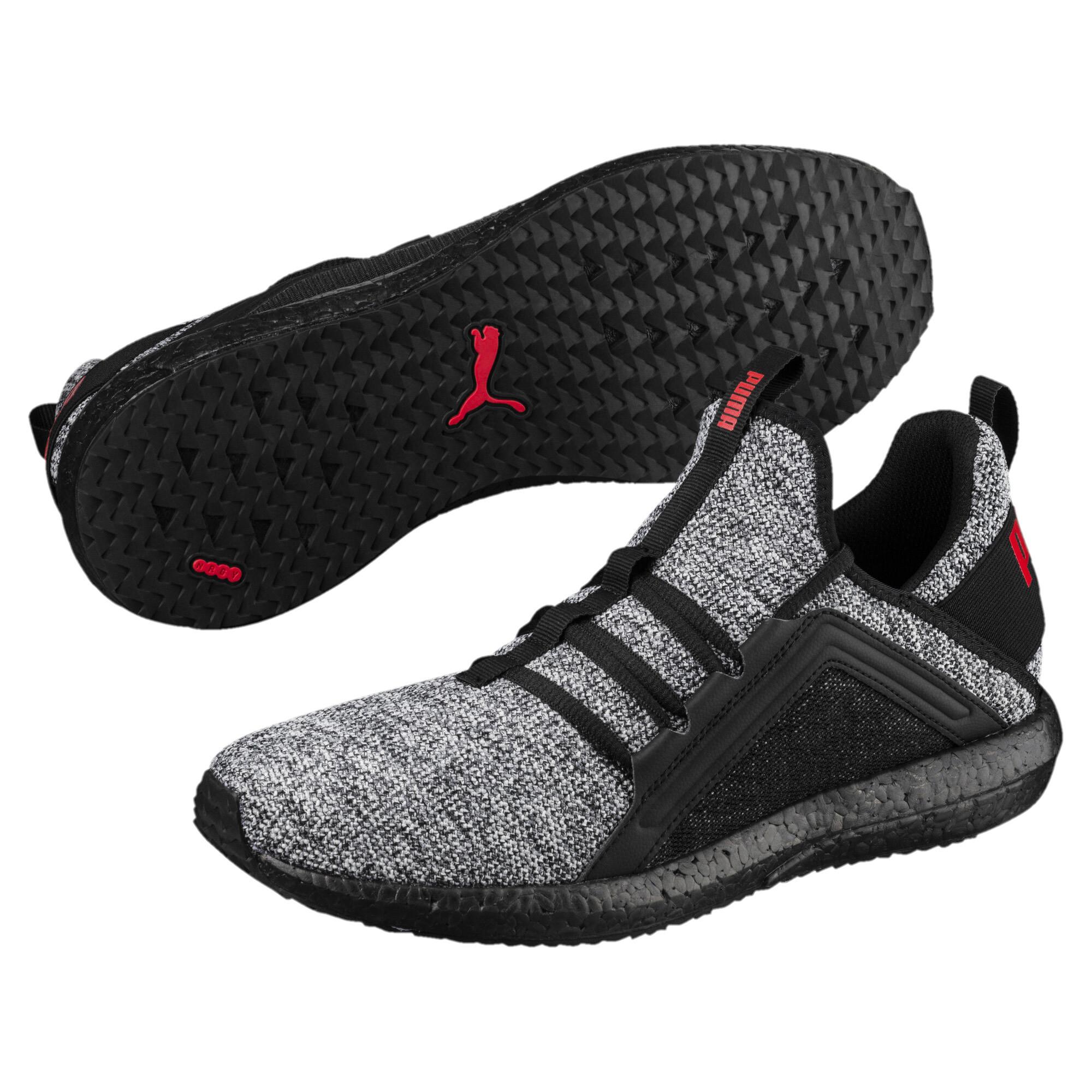 Image Puma Men's Mega NRGY Knit Running Shoes #2