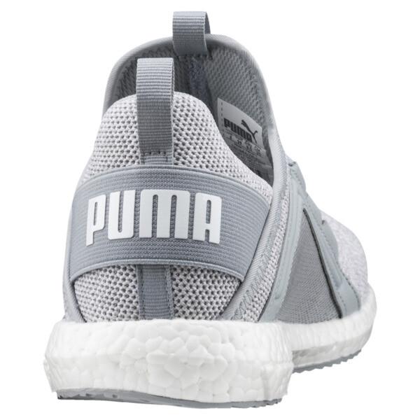 Mega NRGY Knit Women's Trainers, Quarry-Puma White, large