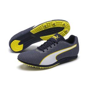 Thumbnail 2 of evoSPEED Distance 8 Men's Running Shoes, Peacoat-Blazing Yellow, medium