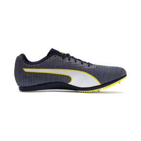 Thumbnail 5 of evoSPEED Distance 8 Men's Running Shoes, Peacoat-Blazing Yellow, medium