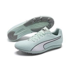 Thumbnail 2 of evoSPEED Distance 8 Women's Running Shoes, Fair Aqua-Puma White, medium
