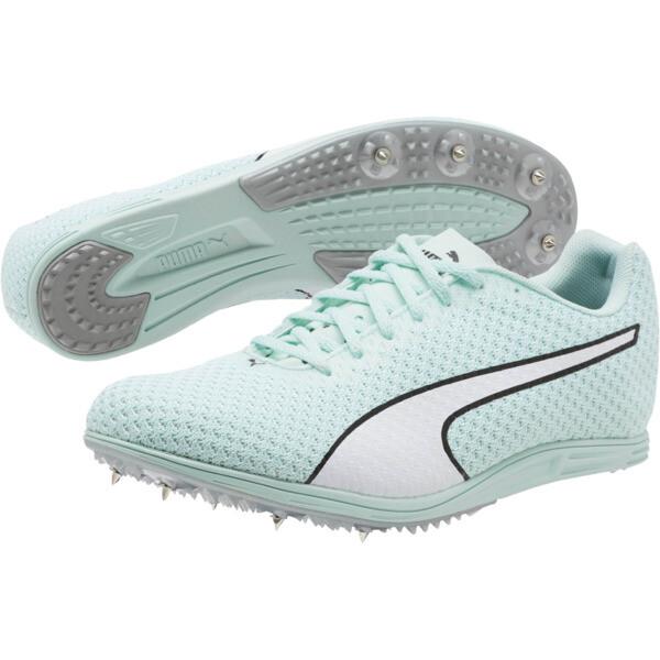 evoSPEED Distance 8 Women's Track Spikes, Fair Aqua-Puma White, large