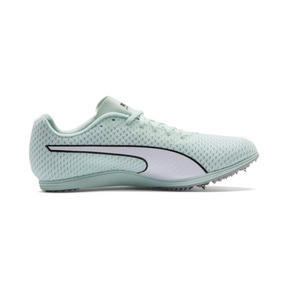 Thumbnail 5 of evoSPEED Distance 8 Women's Running Shoes, Fair Aqua-Puma White, medium