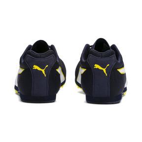Thumbnail 4 of evoSPEED Star 6 Men's Track Spikes, Peacoat-Puma Black-Yellow, medium
