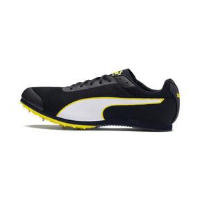 Thumbnail 1 of evoSPEED Star 6 Men's Track Spikes, Peacoat-Puma Black-Yellow, medium