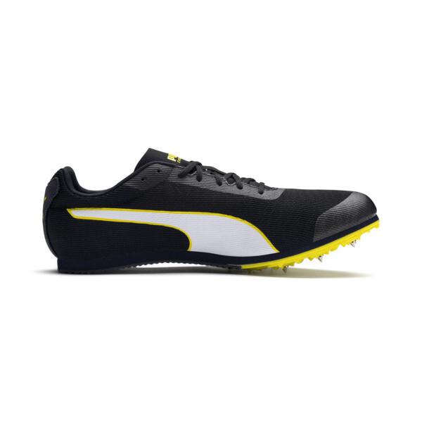 evoSPEED Star 6 Men's Track Spikes, Peacoat-Puma Black-Yellow, large
