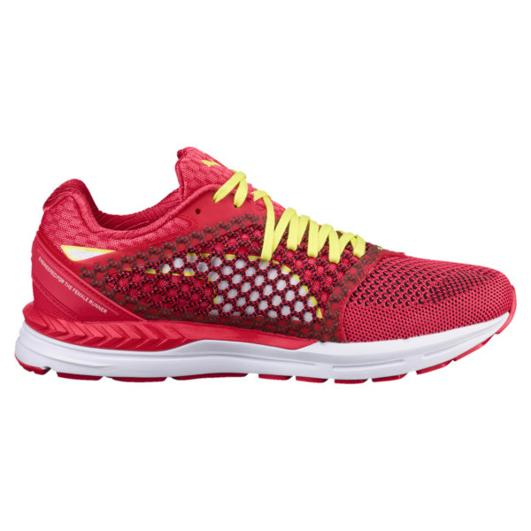 Speed 600 IGNITE 3 Women's Running Shoes, Paradise Pink-Puma White, large