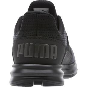 Thumbnail 4 of Enzo Street Men's Running Shoes, Black-Iron Gate-Aged Silver, medium