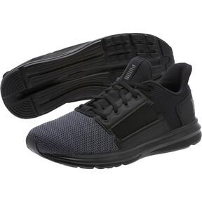 Thumbnail 2 of Enzo Street Men's Running Shoes, Black-Iron Gate-Aged Silver, medium