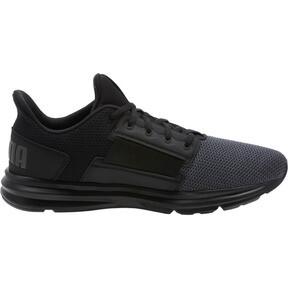 Thumbnail 3 of Enzo Street Men's Running Shoes, Black-Iron Gate-Aged Silver, medium