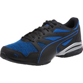 Thumbnail 1 of Tazon Modern Heather Knit Men's Sneakers, Puma Black-Turkish Sea, medium
