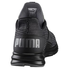 Thumbnail 4 of Enzo Street Knit Men's Running Shoes, QUIET SHADE-Puma Black, medium