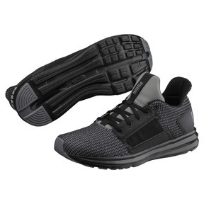 Thumbnail 2 of Enzo Street Knit Men's Running Shoes, QUIET SHADE-Puma Black, medium