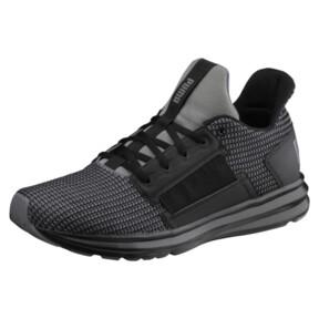 Thumbnail 1 of Enzo Street Knit Men's Running Shoes, QUIET SHADE-Puma Black, medium