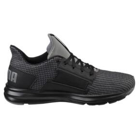Thumbnail 3 of Enzo Street Knit Men's Running Shoes, QUIET SHADE-Puma Black, medium