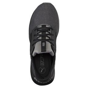 Thumbnail 5 of Enzo Street Knit Men's Running Shoes, QUIET SHADE-Puma Black, medium
