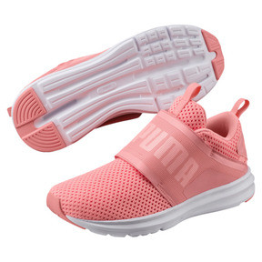 Thumbnail 2 of Enzo Strap Mesh Women's Trainers, Soft Fluo Peach-Puma White, medium