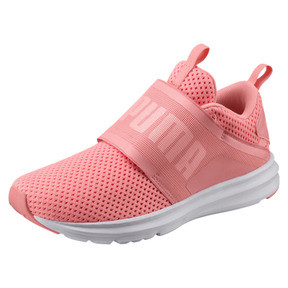 Thumbnail 1 of Enzo Strap Mesh Women's Trainers, Soft Fluo Peach-Puma White, medium