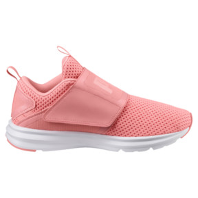 Thumbnail 3 of Enzo Strap Mesh Women's Trainers, Soft Fluo Peach-Puma White, medium
