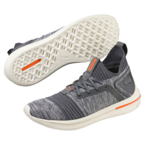 Thumbnail 2 of IGNITE Limitless SR evoKNIT Men's Sneakers, Iron Gate-Shocking Orange, medium