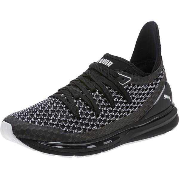 IGNITE Limitless NETFIT Multi Sneakers, Puma Black-Puma White, large
