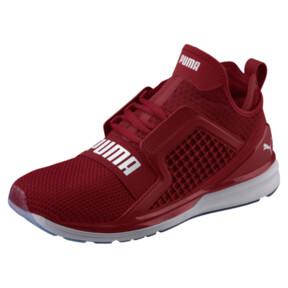 Thumbnail 1 of IGNITE Limitless Weave Men's Running Shoes, Red Dahlia-Puma White, medium