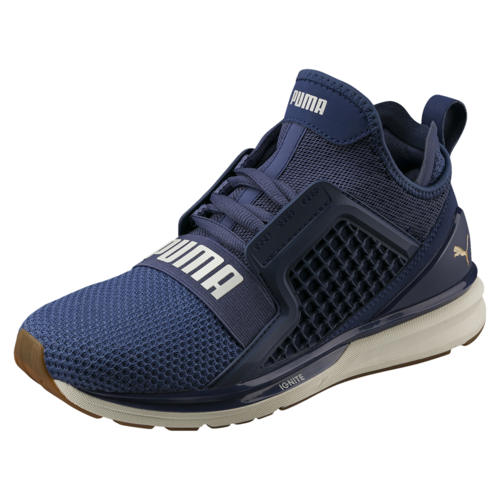 Image Puma Women's IGNITE Limitless Weave Running Shoes #1