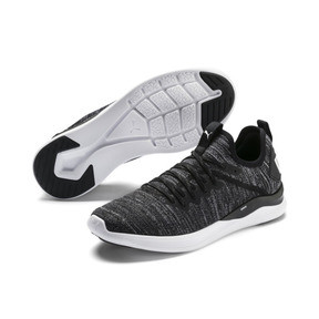 Thumbnail 2 of IGNITE Flash evoKNIT Men's Training Shoes, Black-Asphalt-White, medium