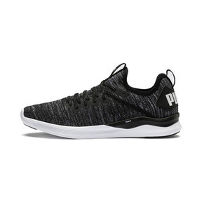 Thumbnail 1 of IGNITE Flash evoKNIT Men's Training Shoes, Black-Asphalt-White, medium